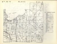 Middle Inlet, Lake T32N-R21E, Marinette County 1954